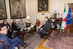 Visita di una delegazione di parlamentari eletti nella circoscrizione Estero