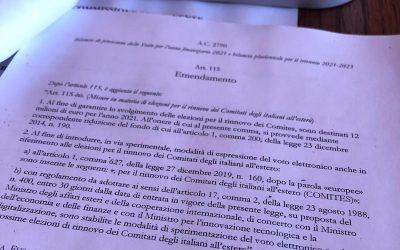Bilancio 2021: i miei emendamenti per gli italiani all'estero