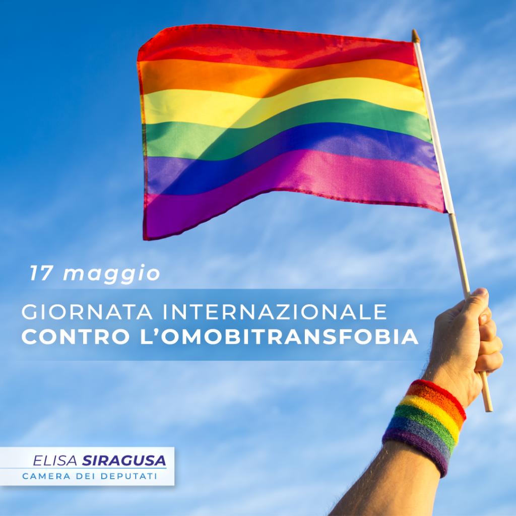 Giornata internazionale contro l'omobitransfobia: vorrei non esistesse