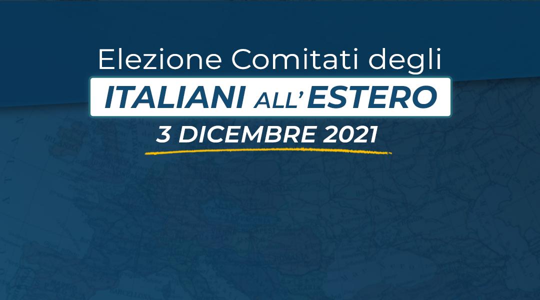 Elezioni Comites 2021