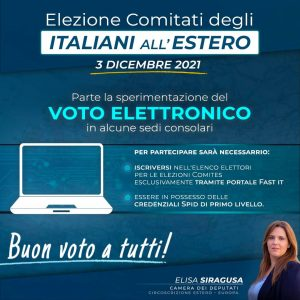 comites voto elettronico